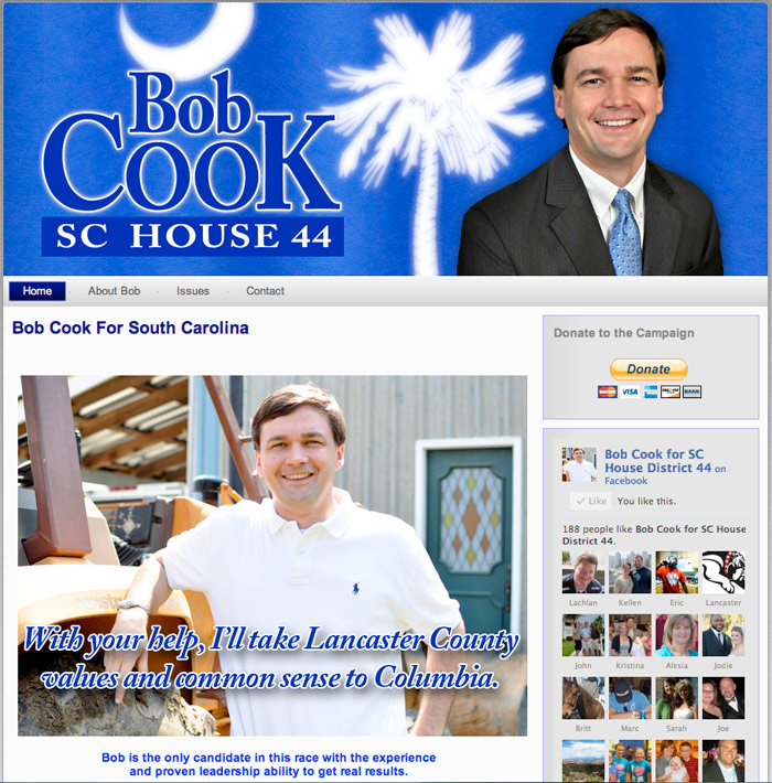 Bob Cook for SC House