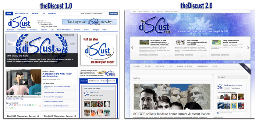 theDiscust redesign